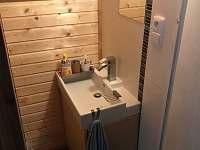 WC - pronájem chaty Blansko