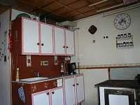 Kuchyň - pronájem chaty Slavkov pod Hostýnem