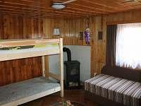 Průchozí ložnice - chata k pronajmutí Slavkov pod Hostýnem