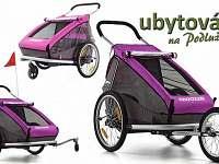 možnost zapůjčení dětského vozíku za kolo - apartmán k pronajmutí Lanžhot
