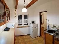 Kuchyň - chalupa k pronajmutí Brod nad Dyjí
