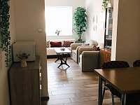 Kuchyň s pokojem - chalupa k pronajmutí Valtice