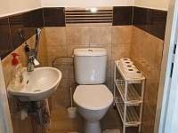 WC - chalupa k pronajmutí Valtice
