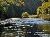 řeka Dyje v Národním paku Podyjí
