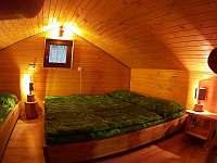 Ložnice č.1 - chata ubytování Lančov