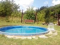 bazén, houpačka