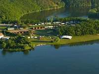 Levné ubytování Bazén Hranice - Happy Star Chatky na horách - Výrovice