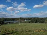 Výhled z terasy - Výrovice
