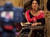 Mladí filmaři natáčeli v Romantickém pokoji s herečkou Zuzanou Kocúrikovou