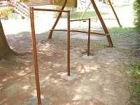 venkovní hřiště pro děti - chata k pronájmu Buchlovice