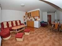 levé podkroví - denní místnost