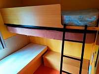 Ložnice pro 3 (spíš děti) - chata ubytování Znojmo