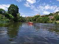 Řeka Dyje (50metrů od domku) - Znojmo