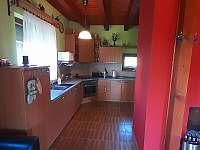 kuchyně - chata k pronajmutí Suchý