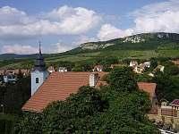 Pohled od domu - apartmán k pronájmu Bavory