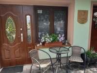 Posezení - apartmán ubytování Bavory