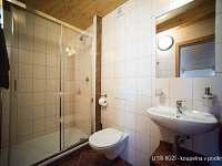 U TŘÍ RŮŽÍ - koupelna v podkroví - Vrbice