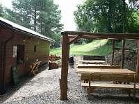 Lesní bar - pergola