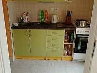 Kuchyně studio 1 - apartmán k pronájmu Bulhary