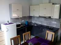 Apartmán č.2 - kuchyně - ubytování Vacenovice