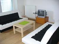 Obývací prostor - apartmán ubytování Moravská Nová Ves