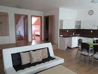 Obývací prostor - pronájem apartmánu Moravská Nová Ves