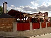 zastřešená terasa