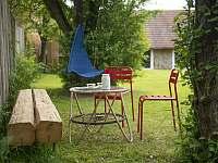 zahrada - chalupa k pronájmu Rudice u Blanska