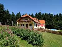 Penzion na horách - okolí Vyškovce