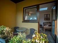Balkonek zadního pokoje - Hovorany