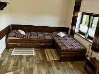 Přední 4 lůžk. pokoj - ubytování Hovorany