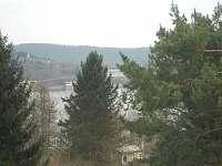 Pohled z balkonu - chata k pronájmu Brno-Bystrc