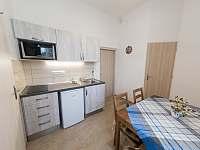 Apartmán č.1 kuchyňka - ubytování Šatov