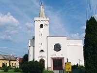 kostel sv. Kunhuty Jevišovka - apartmán k pronájmu