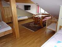 Apartmán 1A - ložnice - k pronájmu Podivín