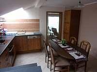 Apartmán 1B - kuchyně s jídelnou - Podivín