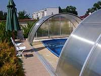 Bazén - apartmán k pronajmutí Podivín