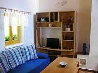 Obývací část - pronájem apartmánu Valtice