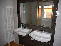 Prostorná koupelna - apartmán k pronájmu Zaječí