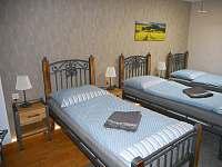 třílůžkový pokoj - apartmán ubytování Zaječí
