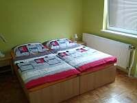 Ložnice 2 ( zelený pokoj ) - apartmán k pronajmutí Vracov