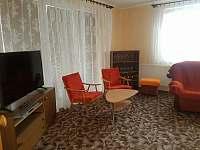 Obývací pokoj. - pronájem apartmánu Vracov
