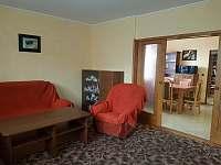 Obývací pokoj. - apartmán k pronajmutí Vracov