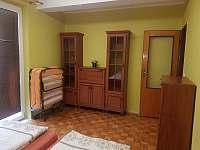 Zelená ložnice. - apartmán ubytování Vracov