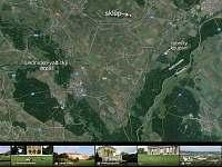 mapa google earth s okolím - Prušánky