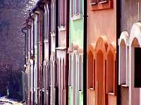 Naše ulička se sklepem - náš je zelený)) - chalupa ubytování Prušánky