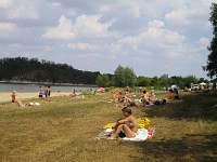pláž - pronájem chalupy Výrovice