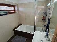 Koupelna - chata k pronajmutí Dobrkovice