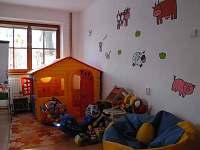Dětský koutek ve společenské místnosti