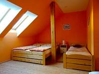 oranžový pokoj - pronájem apartmánu Sedlec u Mikulova